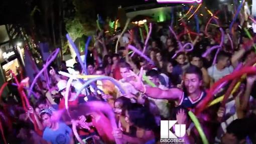 Fiesta en Ku Benidorm.