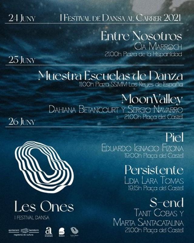 Benidorm dance festival 24 al 26 de junio: todas las actuaciones gratuitas